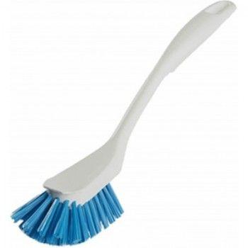 Vikan 42893 afwasborstel design, wit blauwe medium vezels, - 1273