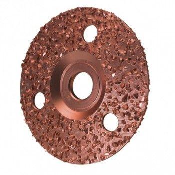 Hoefslijpschijf Gbel- diameter 115 mm. dubbel - 1689