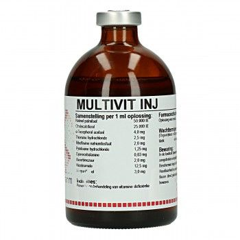 Multivitamine injectie 100 ml - 1928