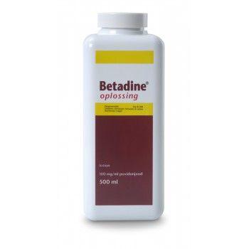 Betadine oplossing 500 ml - 1970