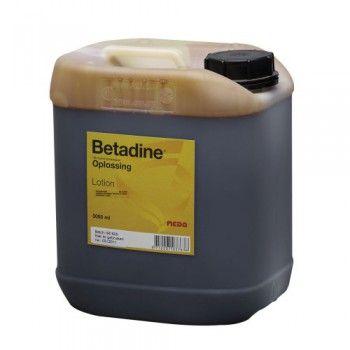 Betadine oplossing 5 liter - 1973