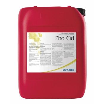 PHO-CID Zuur Reinigingsmiddel 25 kilo - 2436