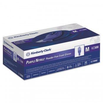 Kimberly-Clark Melkershandschoen Purple Nitrile poedervrij-1