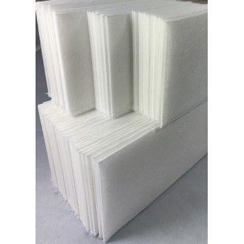 Melk- buisfilter 480 x 58 mm  (120 gram) 100 stuks - 2554