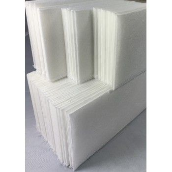 Buisfilter 400 x 58 mm (120 gram) 100 stuks - 2590