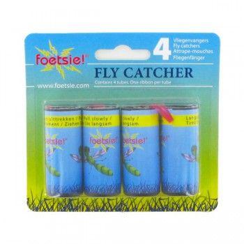 Foetsie Ouderwetse Vliegenvanger met kleefstof - 2739