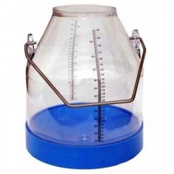 Melkemmer 30 liter Zwarte Schaalverdeling - 376
