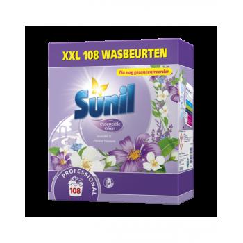 Sunil Professional Wasmiddel Lavendel & Chinese Bloesem 108 wasbeurten - 3854