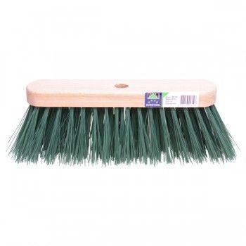 Straatbezem FSC 29 cm kunstvezel groen - 3976