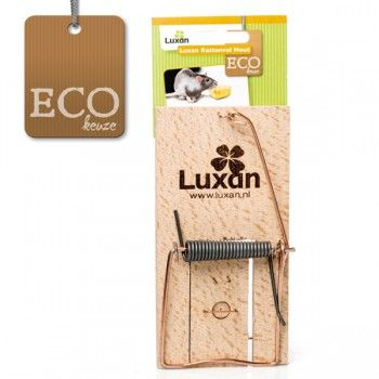 Luxan ECO Rattenval Hout - 4034