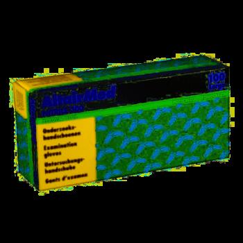 AltairMed Melkershandschoen Blauw nitril poedervrij  Extra lange manchet - 4048