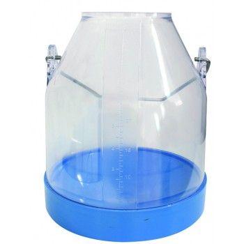 Melkemmer Blauw 30 liter COMPLEET - 4081