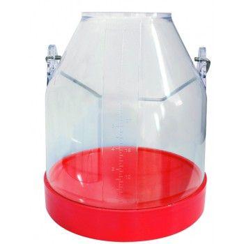Melkemmer Rood 30 liter COMPLEET - 4089