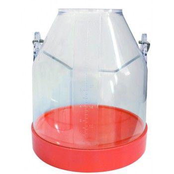 Melkemmer Oranje 30 liter COMPLEET - 4094