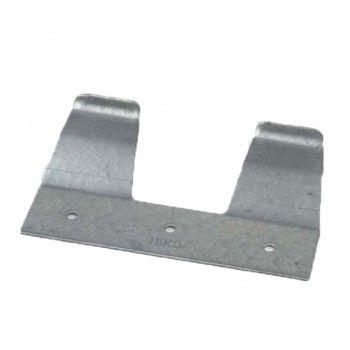 Speenemmer ophangplaatje Hiko metaal - 4198