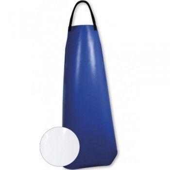 Melkschort blauw PE-gecoat - 4205