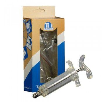 Nylon injectiespuit met Luer Lock aansluiting 10 ml. - 4678