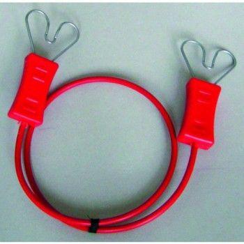 Draadverbindingskabel 50 cm met hartklem - 4759