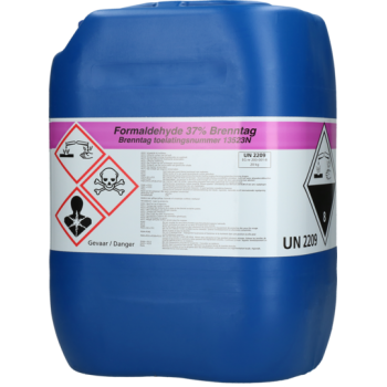 Brenntag Formaline 37% -can 20 kilo (1 t/m 5 cans) - 4862