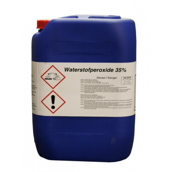 Brenntag Waterstofperoxide 35 % 23 kilo (8 cans of meer) - 4868