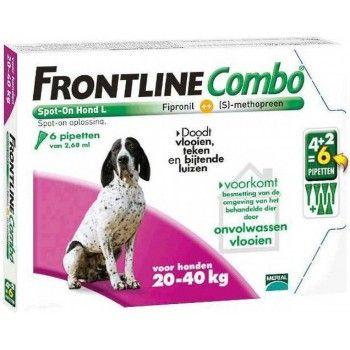 Frontline Combo spot on hond L 20-40 kg 4+2 pipet - 5021