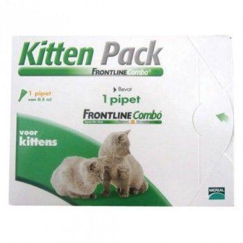 Frontline Combo kitten 1 pipet vanaf 8 weken en vanaf 1 kg. - 5032