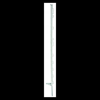 Horizont Kunststofpaal standaard wit 8-ogen 105 cm - 5391
