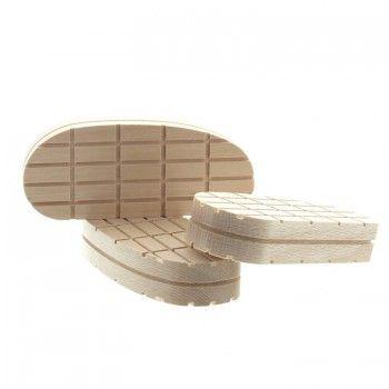 Klauwblokjes hout XL 130 mm - 5647