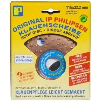 Hoefslijpschijf Philipsen 115 mm dubbel - 944